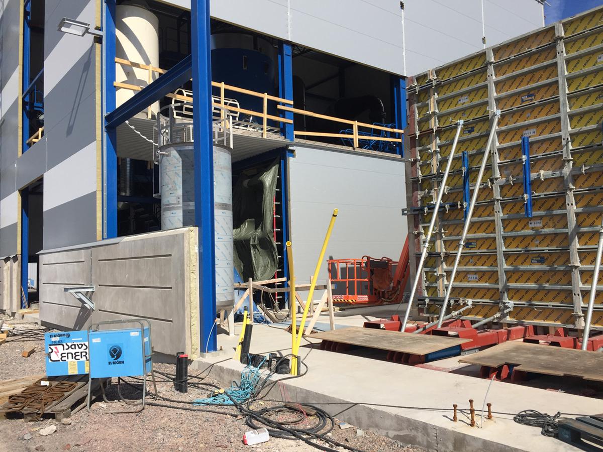 Njudungs Energi AB - Fjärrvärmecentral i Sävsjö